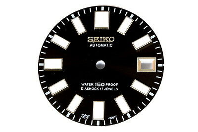 Seiko aftermarket 6217-8000T divers dial with luminous indicators