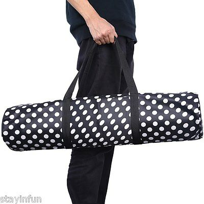 Durable Water Resistant Yoga Mat Backpack Pouch DOT DECORATION