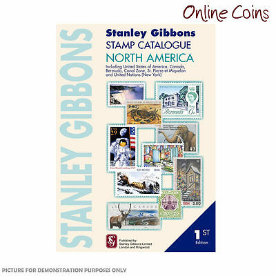 Stanley Gibbons Stamp Catalogue North Amercia 1st Edition Soft Cover Book