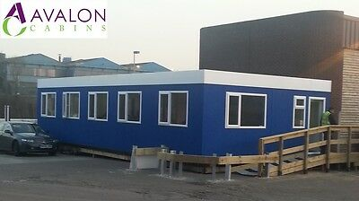 40ft X 20ft Modular Building, Portable Cabin, Office, Marketing Suite, Showroom