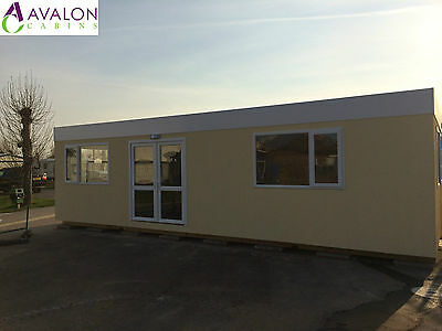 32ft X 18ft Modular Building, Portable Cabin, Office, Marketing Suite, Showroom