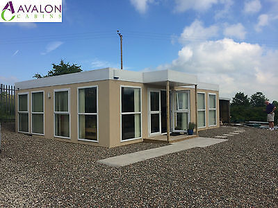32ft X 24ft Modular Building, Portable Cabin, Office, Marketing Suite, Showroom