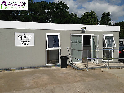 40ft X 19ft Modular Building, Portable Cabin, Office, Marketing Suite, Showroom