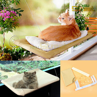 Cat Pet Window Mounted Bed Seat Sunny Kitty Hammock Wall Comfortable Cover New