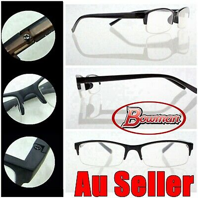 Men Women Half Rim Reading Glasses Semi Half Frame Reader Spectacle +1.0~+3.5