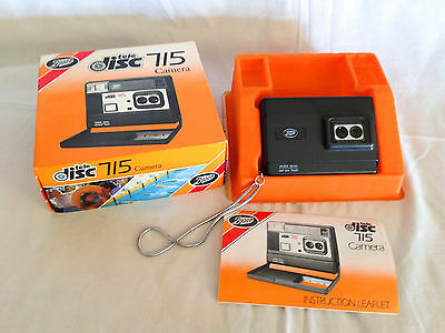 Boxed Boots 715 Disc Camera