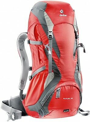 Deuter Futura 32 - airy backpack for day hikes, office, shopping tour