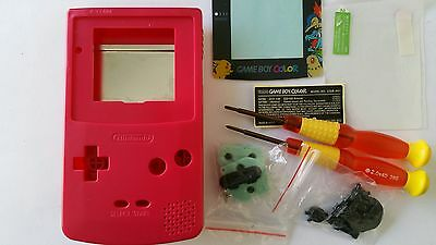 Es- Phonecaseonline Carcasa Gameboy Color Pokemon Pink Nueva