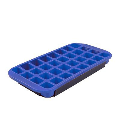 NEW D.Line Flexible Jumbo Ice Cube Tray Blue