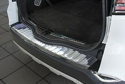 Stainless Steel Boot Edge Protector compatible with RENAULT ESPACE V Built 2015