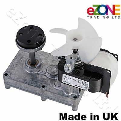 Electric Motor for Archway Doner Kebab Machine with Metal & Rubber Couplings