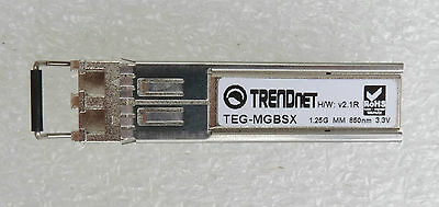 Lodfiber Teg-mgbsx T-r-e-n-d-n-e-t Compatible 1000base-sx Sfp 850nm 550m Dom Transceiver Communication Equipments