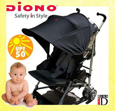 Diono Shade Universal Stroller Pushchair Buggy Sun Shade Canopy Parasol Umbrella