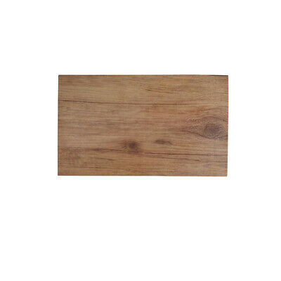 Melamine Wood-Look Board 250x150mm Ryner Display Catering Timber Style Tray
