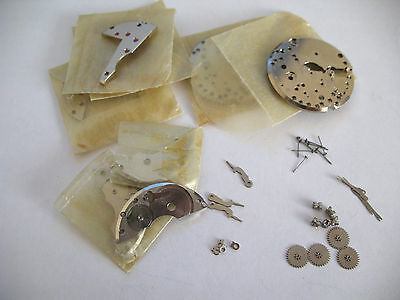 As 1130  Assorted Spare Watch Movement Parts