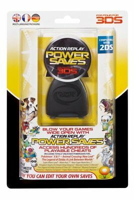 Datel Action Replay Power Saves 3DS   Nintendo 3DS - Brand New