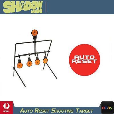 Auto Resetting Shooting Target .22 Air Rifle Hanging Steel Resetting Paddle