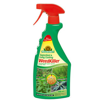 Superfast and Long Lasting Weedkiller RTU 750ml Neurdorff