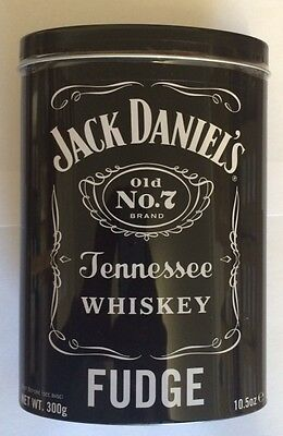 Gardiners Jack Daniel's Tennessee Whiskey Fudge 300g Gift Tin