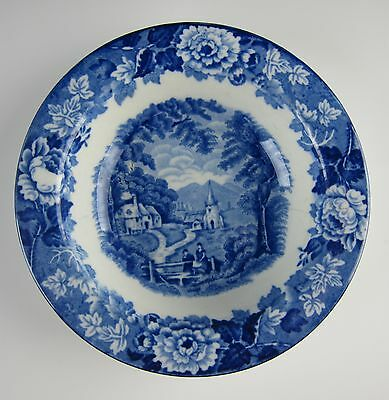 Wood & Sons China ENGLISH SCENERY-BLUE Fruit/Dessert Bowl(s)