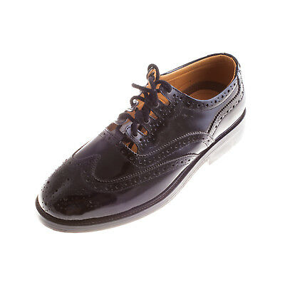 Heritage Of Scotland Men's Scottish Leather Sole Ghillie Brogues Kilt Shoes