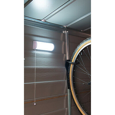 Solar Powered Shed Light