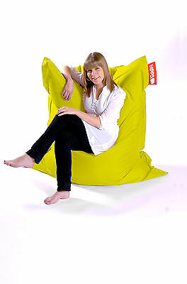 Yellow Hippo XXL Adult Bean Bag Water Resistant Beanbag Lounger Gamer Outdoor