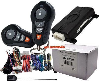 VIPER 4103 /4103XV  Remote Start and Keyless Entry 2000ft Range 4-Button Remotes