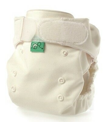 TotsBots Pocket Tot Cotton Reusable Nappy, White, 5 Pack, Special Offer €39.00