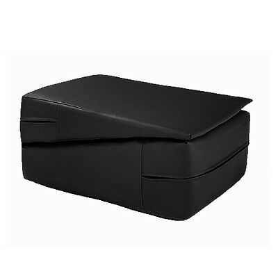 Black Gymnastics Training Wedge Incline Mounting Yoga Block Vault Folding Pilate