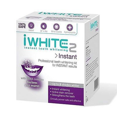 iWhite Instant Teeth Whitening 2 Instant Stain Removal Kit with MOHA Complex