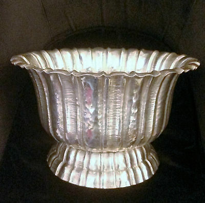 Wiener Werkstatte Secessionsit Big Centerpiece Bowl Silverplated Josef Hoffmann
