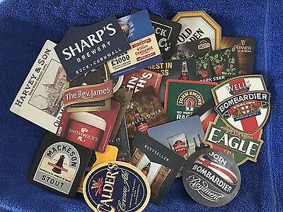 26 Various Ale, Beer and Stout Bar Coasters