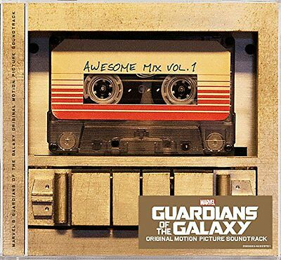 Guardians Of The Galaxy Cd Soundtrack - Awesome Mix Vol.1 (2014) - New Unopened
