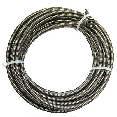 NEW 50-Ft Drain Auger Cable Replacement Cleaner Snake Clog Pipe Sewer cleaning