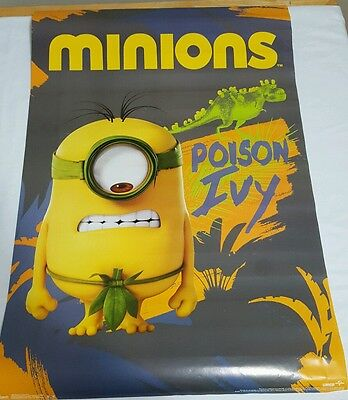 Wholesale Lot of 6 Minion Posters Poison Ivy 22x34