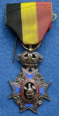 Kingdom of Belgium Special Decoration Mutuality Medal