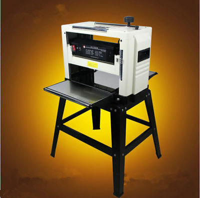 """Professional 12-1/2"""" Woodworking Thickness Planer 1500W 220V Tables& Knives E"""