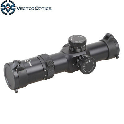 Vector Optics Apophis 1-6x28 Tactical First Focal Plane Rifle Scope FFP M4-62