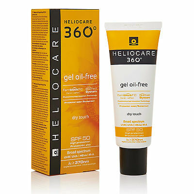 Heliocare 360 Oil Free Gel SPF50 50ml