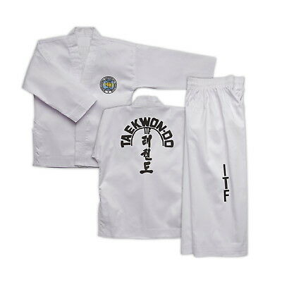 BEGINNERS ITF Taekwondo Suits - also Doboks for all Colour Belts - SUPER PRICE