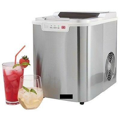 Icemaker Ice Cube Machine Maker Countertop Bar Pub Home Drinks Cocktails Partys