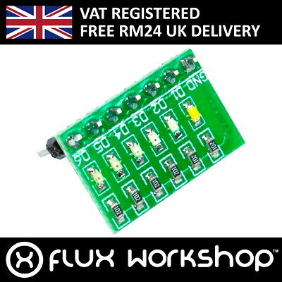 6 Status LED Module Arduino Raspberry Pi Debug Error Code Proto Flux Workshop