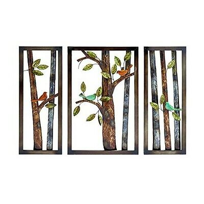 Creative Set Of Metal Tree Branch And Leaf Wall Art New