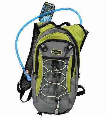 2 Litre Hydration Pack/Backpack Bag With Water Bladder For Running/Cycling