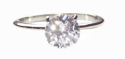 Timeless & classic  clear faux diamond & slim chrome band metal hand ring(zx171)