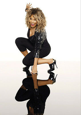 Tina Turner Unsigned Photo - 8143 - Gorgeous!!!!!
