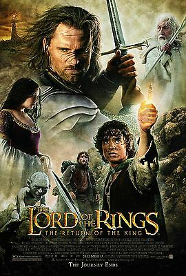 The Lord of the Rings The Return of the King Movie Silk Fabric Poster