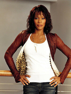 Whitney Houston Unsigned Photo - 7802 - Sexy!!!!!