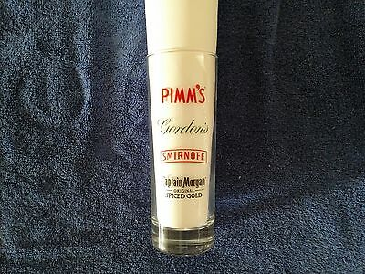 Pimms High Ball Glasses X 2 Extremely Rare